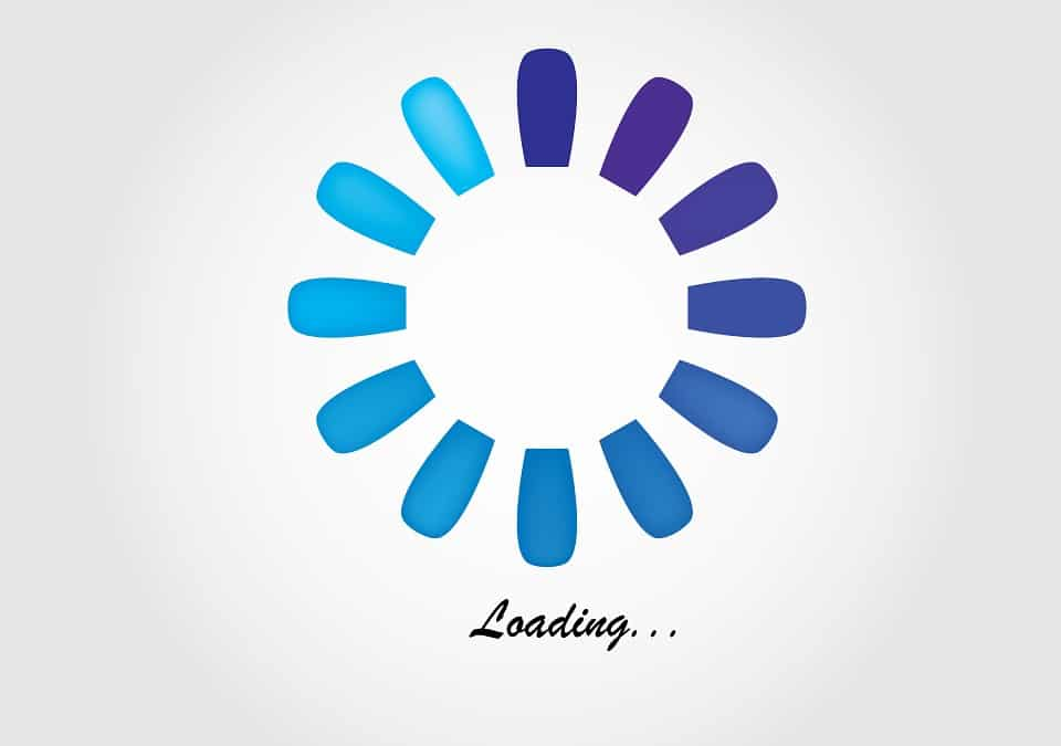 website loading