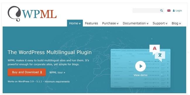 wpml WordPress Multilingual Plugin